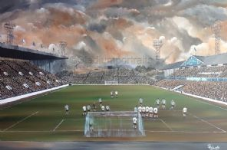 Sheffield Wednesday Hillsborough 1962 - 20'' x 30'' approx poster print
